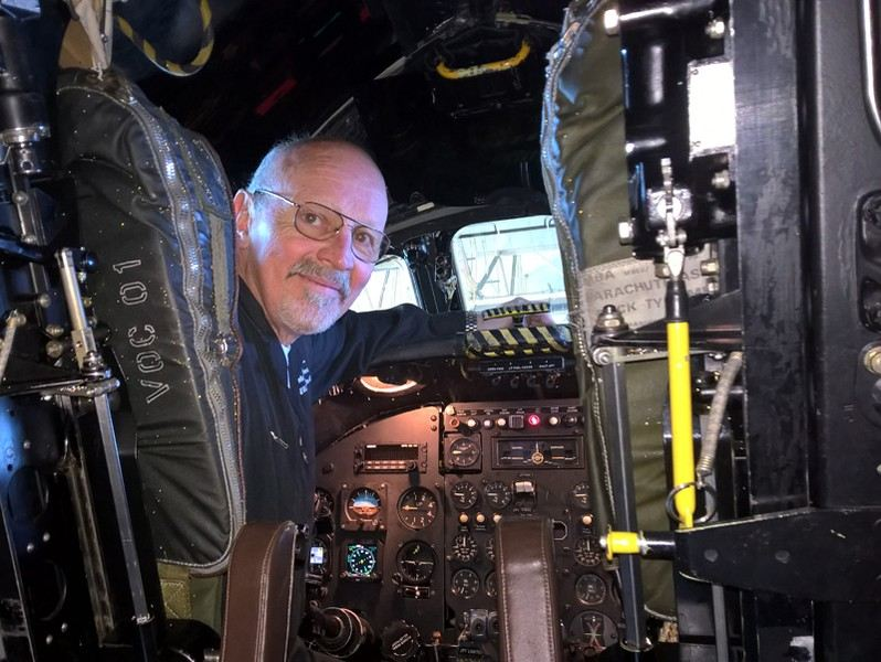 Martin Withers, chief pilot of Vulcan to the Sky Trust and captain of Vulcan XM607 during the legendary raid on the airfield at Port Stanley during the Falklands Conflict