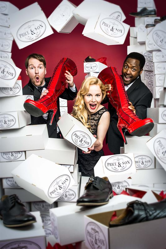 Kinky Boots London - Killian Donnelly, Amy Lennox, Matt Henry - Photo by Matt Crockett