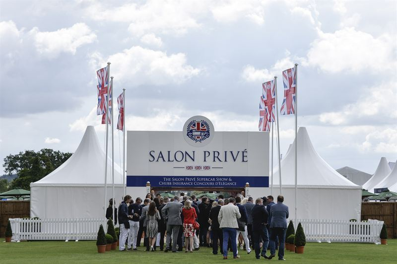Salon Prive 2015 - entrance Max Earey